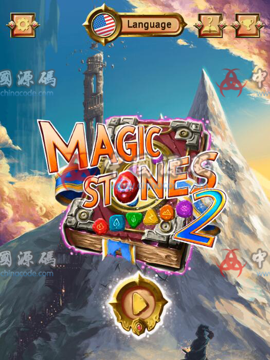 html5消除游戏《魔法石》源码 H5-第1张