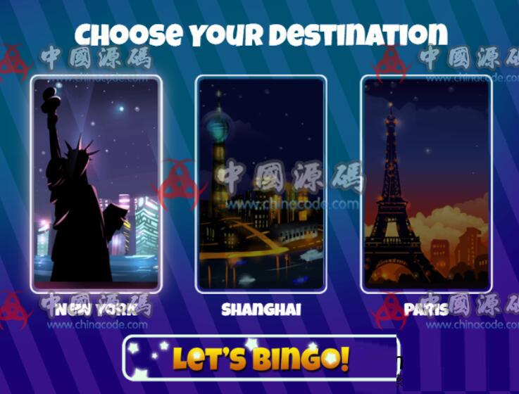益智游戏《宾果世界》源码Bingo World H5-第2张