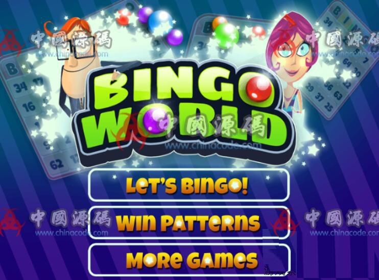 益智游戏《宾果世界》源码Bingo World H5-第1张