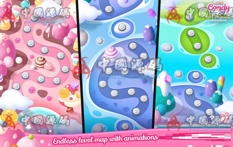 Unity糖果三消除游戏源码Candy Match 3 Kit v1.1.1 手游-第3张