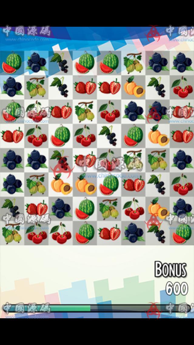 cocos2d-x水果消消乐源码+全套素材 手游-第3张