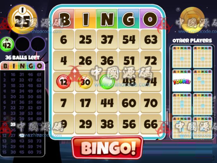 益智游戏《宾果世界》源码Bingo World H5-第3张
