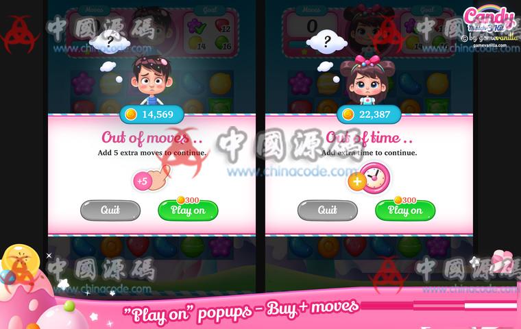 Unity糖果三消除游戏源码Candy Match 3 Kit v1.1.1 手游-第4张