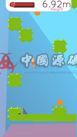 Unity2D《火箭障碍》手游完整源码 手游-第2张