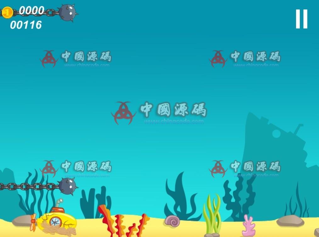 横版游戏《深海潜水艇》源码 手游-第3张