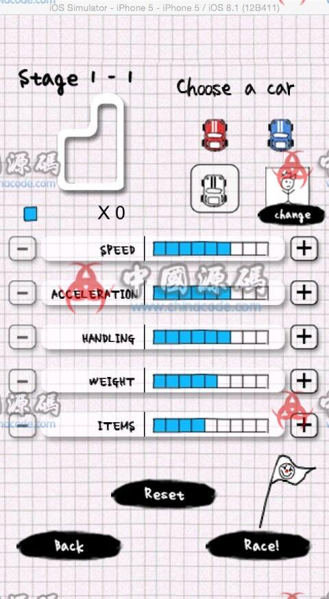 Cocos2d竞速类手游《涂鸦卡丁车》完整源码 手游-第4张
