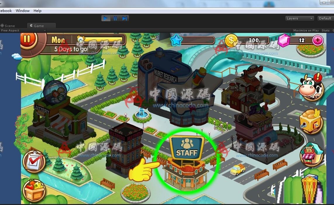 Unity 3D 《farm business》农场模拟经营游戏源码 手游-第4张