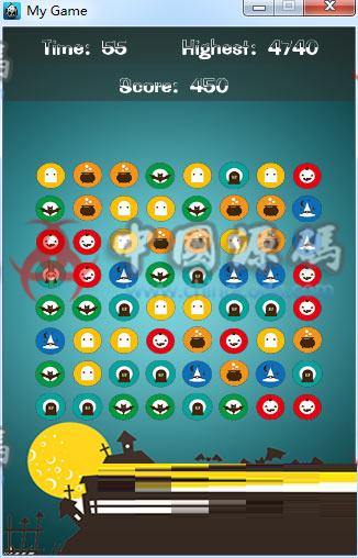 Cocos2d-x 3.2《万圣大作战》消除游戏源码 手游-第2张