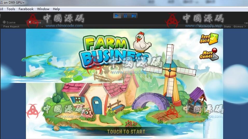 Unity 3D 《farm business》农场模拟经营游戏源码 手游-第1张