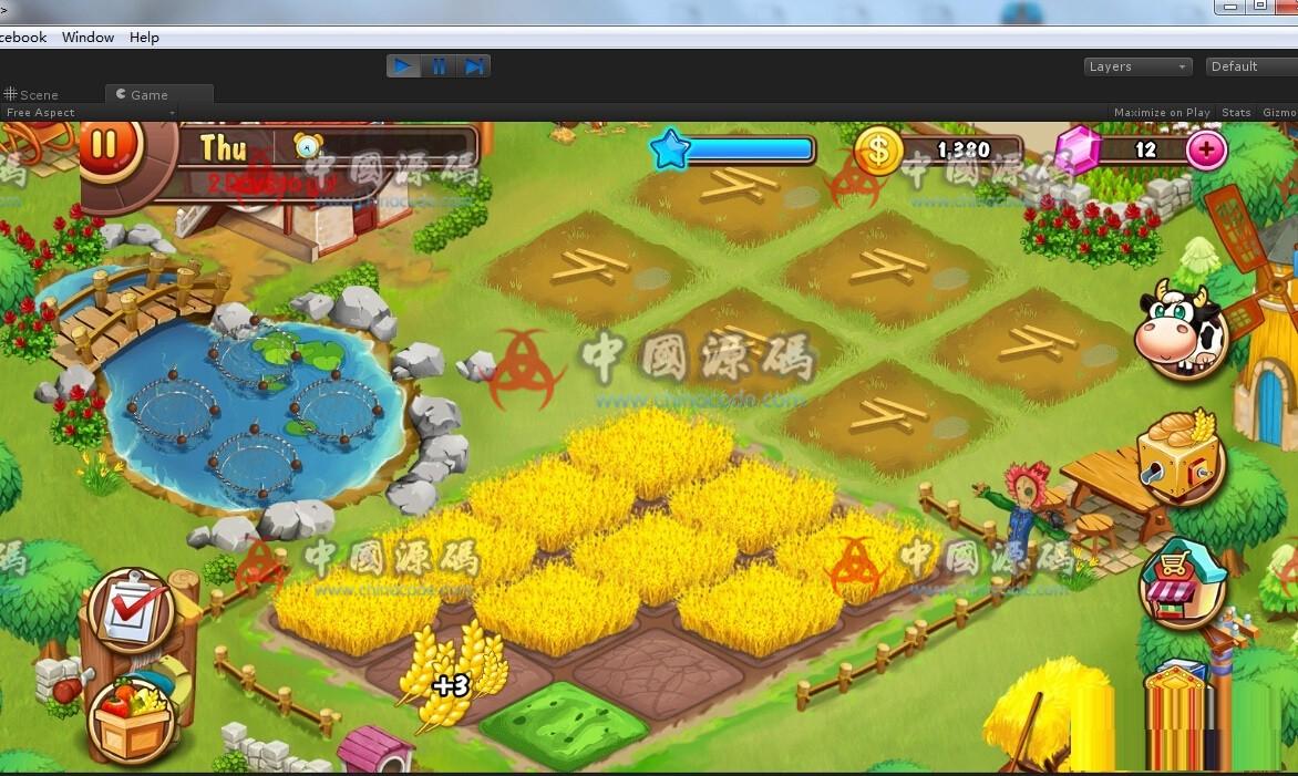 Unity 3D 《farm business》农场模拟经营游戏源码 手游-第5张
