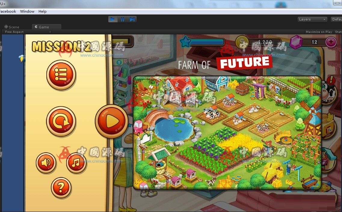 Unity 3D 《farm business》农场模拟经营游戏源码 手游-第2张